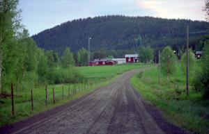 Byn Valvträsk utanför Boden Foto: boden.se