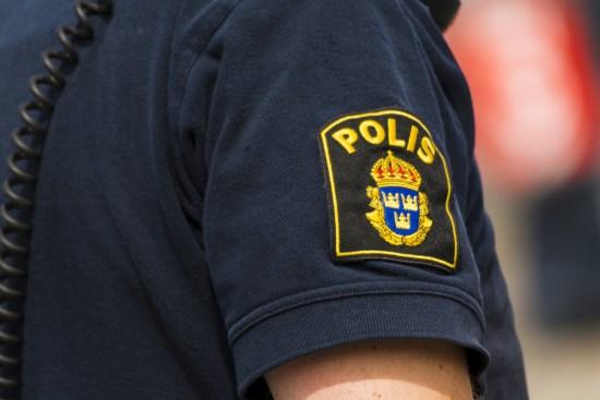Polis i arbete Foto: Polisen.se