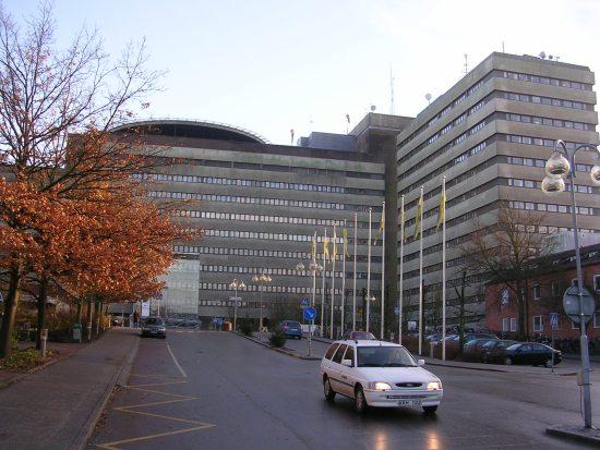 ... men avled här på Universitetssjukhuset i Lund Foto: commons.wikimedia.org