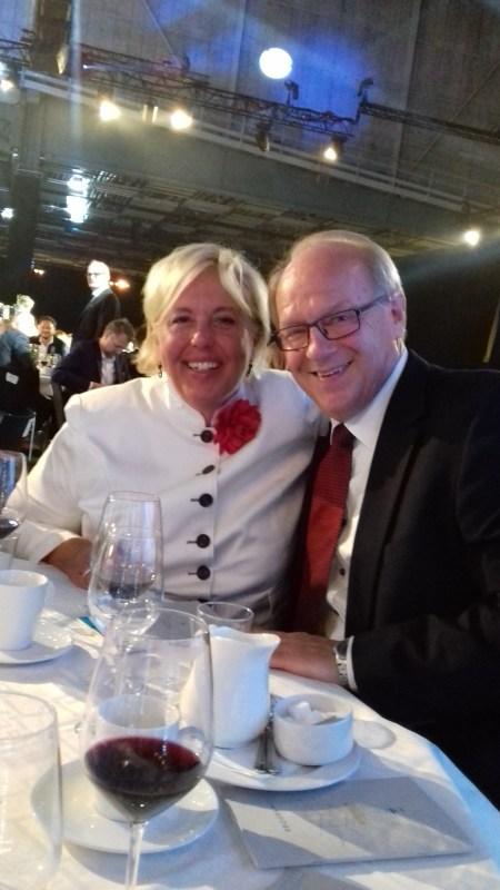 Suzanne Axell från Fråga Doktorn satt tillsammans med Lennart Persson, SVT Foto: Elisabet Höglund
