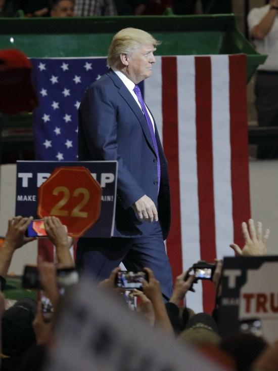Donald Trump driver USA åt höger. Copyright: Americanspirit/Dreamstime.com