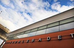 Det var i riktning mot Eriksdalsbadet på Ringvägen som gärningsmannen försvann Bild: stockholm.se