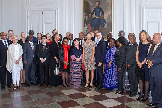 Utländska FN-ambassadörer på besök i Sverige Foto: H Garlöv/Regeringskansliet