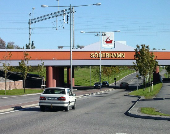 Infarten till Söderhamn Foto: Söderhamn.se