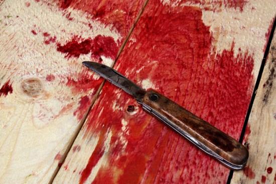 Knivmord. Bilden har inget med dubbelmordet i Sollentuna att göra. Copyright: Adam88x/Dreamstime.com