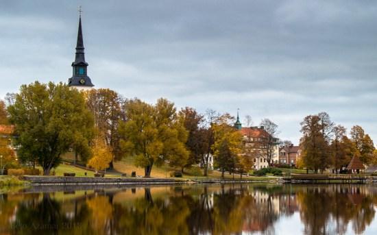 Här i Lindesberg i Västmanland blev en kvinna knivskuren av en person som var på besök i hennes bostad. Bild: flickr.com