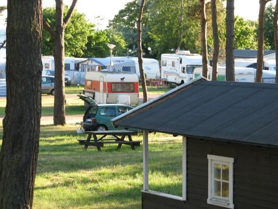 Dalabadets camping i Trelleborg Foto: Trelleborg.se