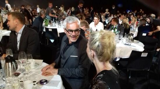 Kristoffer Lundström från SVT var en av de många gästerna Foto: Elisabet Höglund