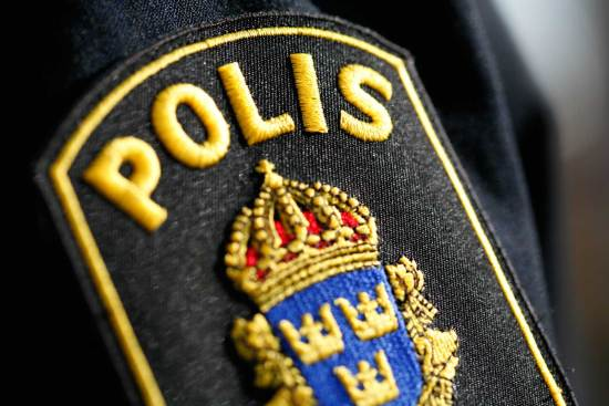 Polisen besöker en gymnasieskola i Småland. Genrebild. Foto: staffanstorp.se