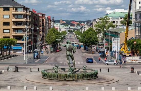 Mordförsöket begicks i närheten av Avenyn i Göteborg Copyright: Alexandre Fagundes de Fagundes/Dreamstime.com