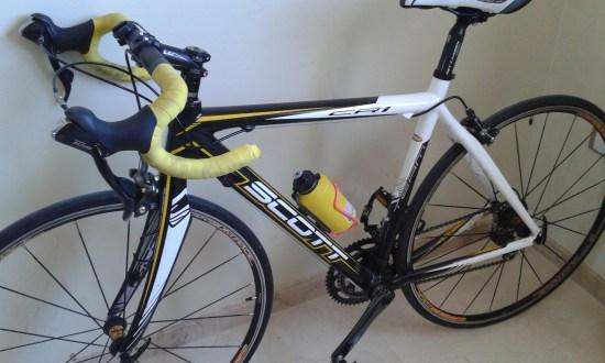 Med hjälp av min cykel har jag återeövrat mycket av den kraft jag förlorade i samband med min cancer