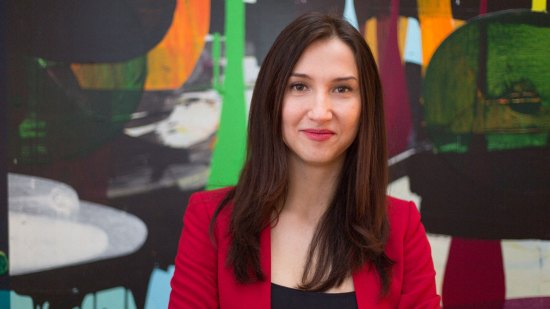 Aida Hadzialic, avgående gymnasieminister Foto: Socialdemokraterna.se