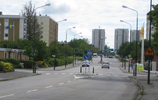 Det är här på Munkhättegatan i Malmö som misshandeln av bl a en man i 50-årsåldern äger rum. Foto: Commons.widimedia.org