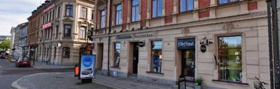 En misshandlad man påträffades i Stenstan i Sundsvall under natten till söndagen. Bild: hitta.se