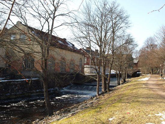 Här på Hantverksgatan i Filipstad blev en man i 20-årsåldern utsatt för ett mordförsök av två maskerade män. Bild: mapio.net
