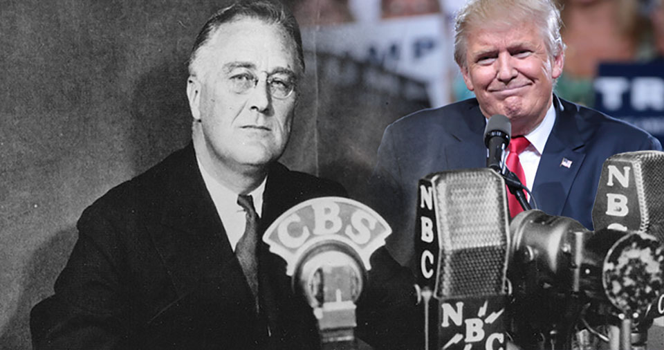 As Donald Trump goes back on his promises to help working families, many feel betrayed. But Franklin Delano Roosevelt warned us way back in 1936.