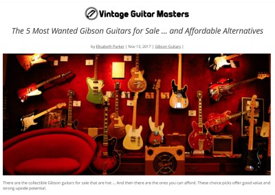 Gibson Guitars for Sale
