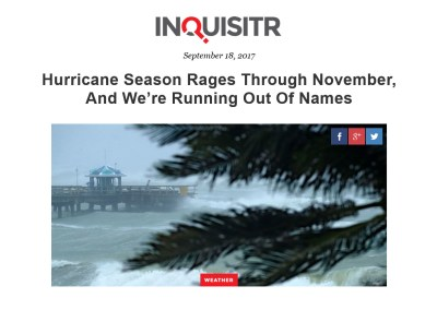 Hurricane Names