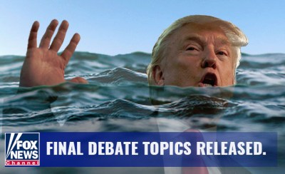 12 2016.11 Final Presidential Debate Topics Released