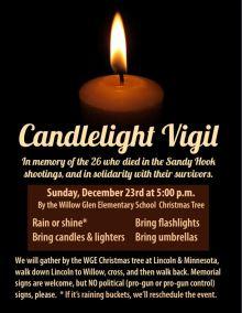 2012.12.23 - Flier for Sandy Hook Vigil