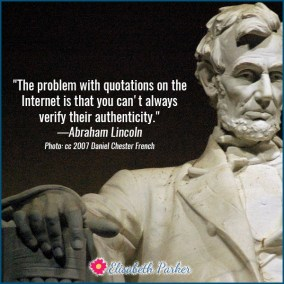 2016.12.04 - Abraham Lincoln - Quotations on the Internet
