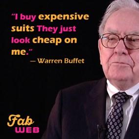2018.03.10 - Fabweb - Warren Buffet - Cheap Suit