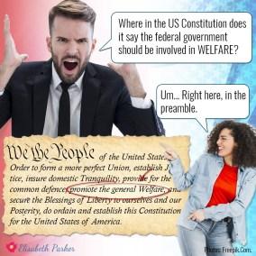 2018.11.03 - US Constitution on Welfare