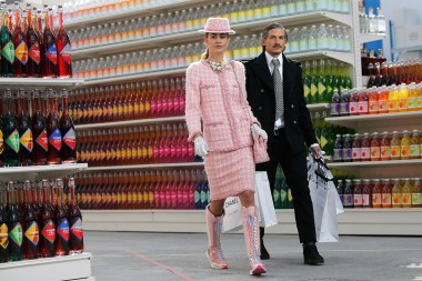 Shopping Centre presentation for Chanel's Fall/Winter 2014-2015 collection