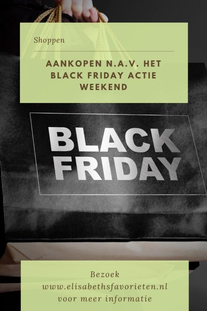 Aankopen n.a.v. het Black Friday actie weekend
