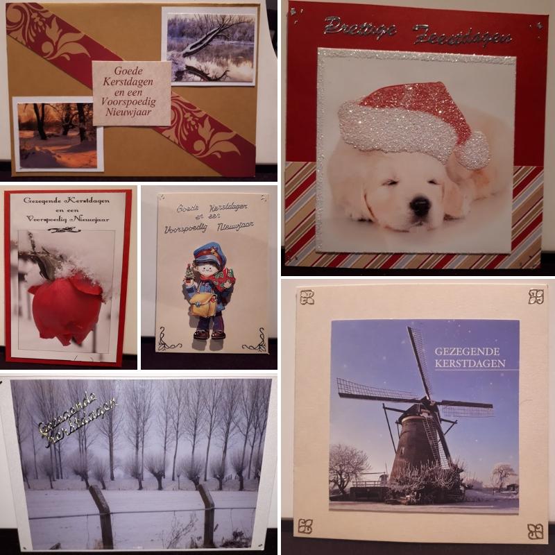 gemaakte kaart fam en friends1 - Gekregen en gemaakte kaarten in december