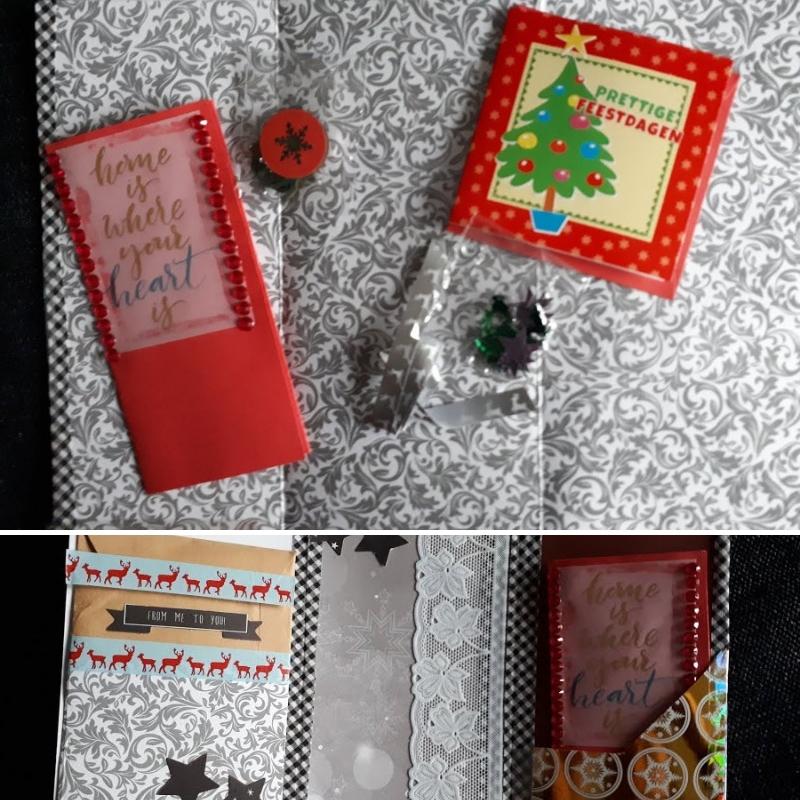 snailmail kerst gekregen - rood