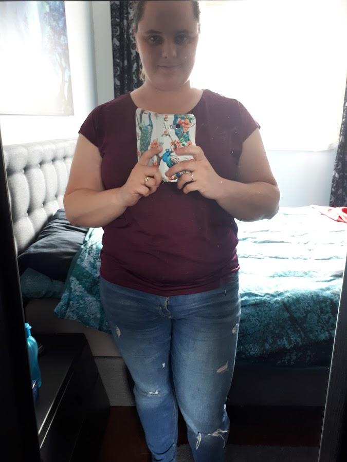 outfit selfie spiegel