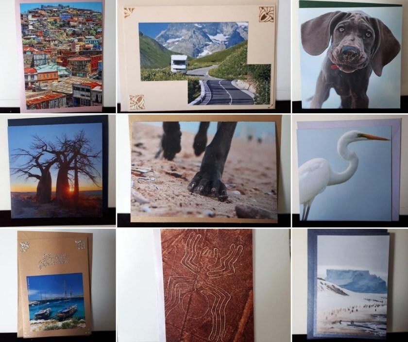 kaarten gemaakt van afbeeldingen tijdschriften5