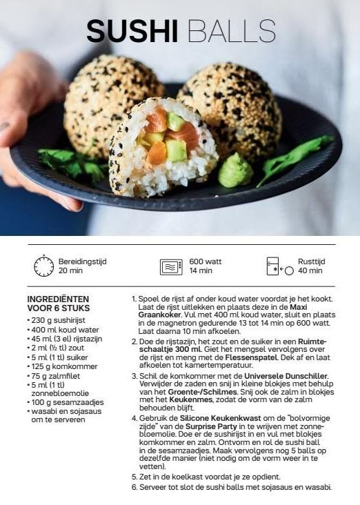 sushi balls recept