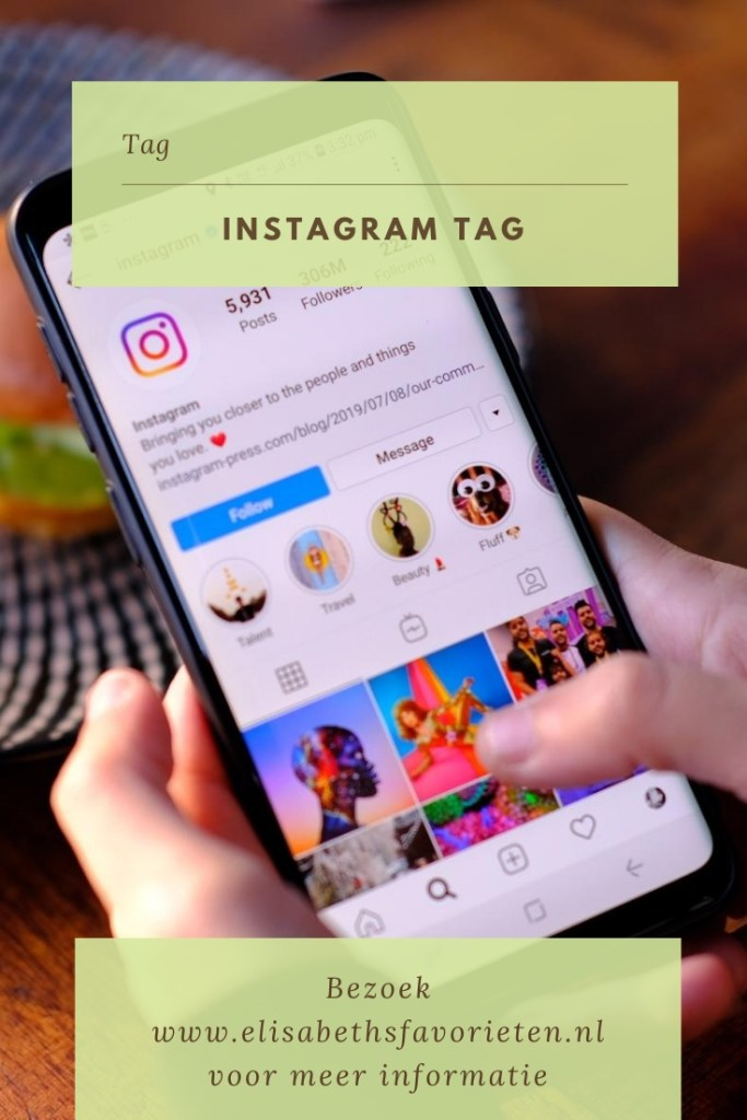 Instagram Tag