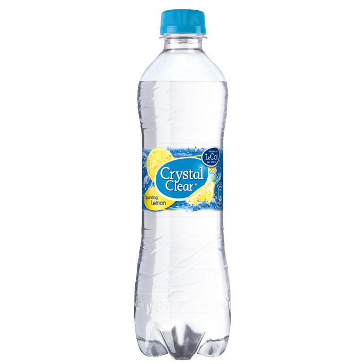 Crystal Clear fles met lemon