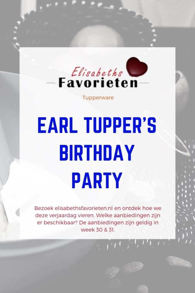 Earl Tupper's birthdayparty