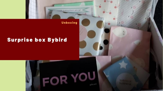 Surprise box Bybird – Unboxing #4