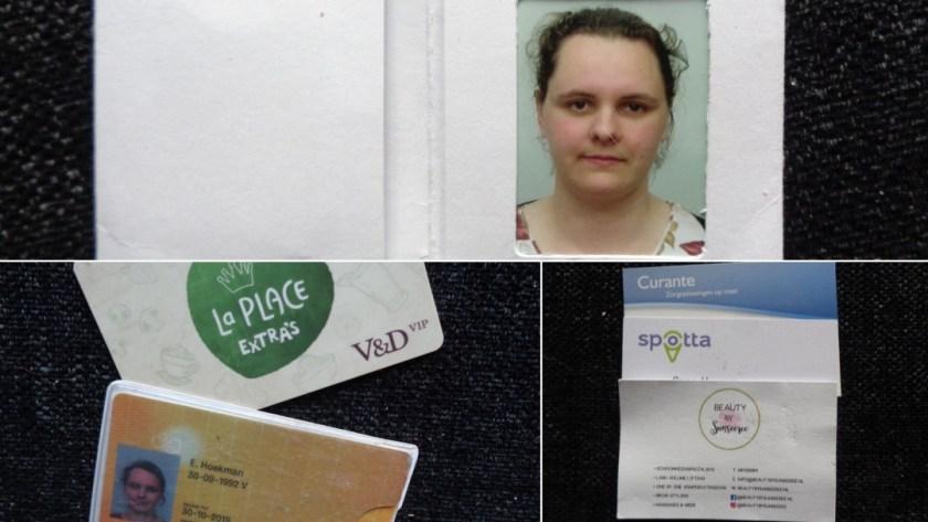 pasjes, visitekaartjes en pasfoto