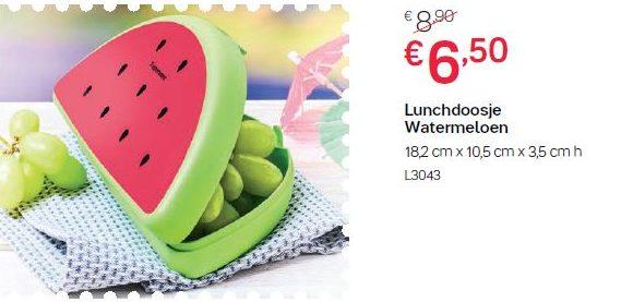 Lunchdoosje watermeloen