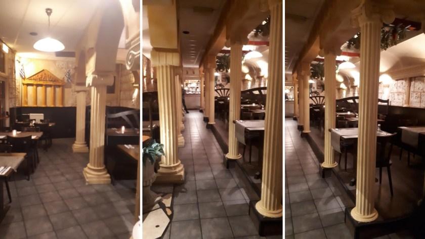 restaurant akropolis binnen