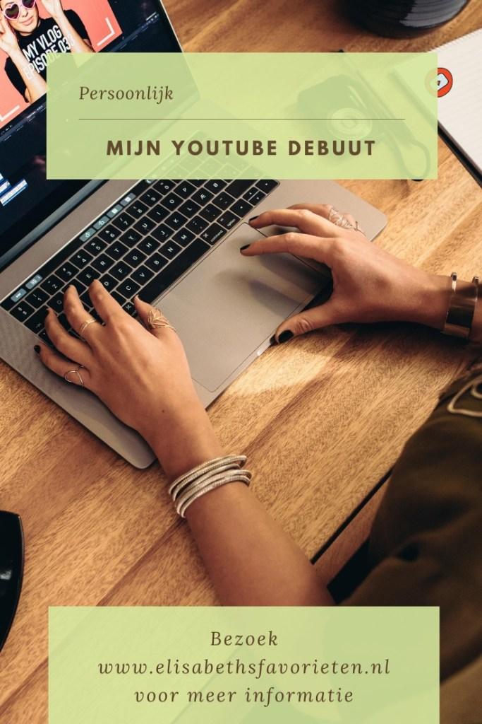 Mijn YouTube debuut