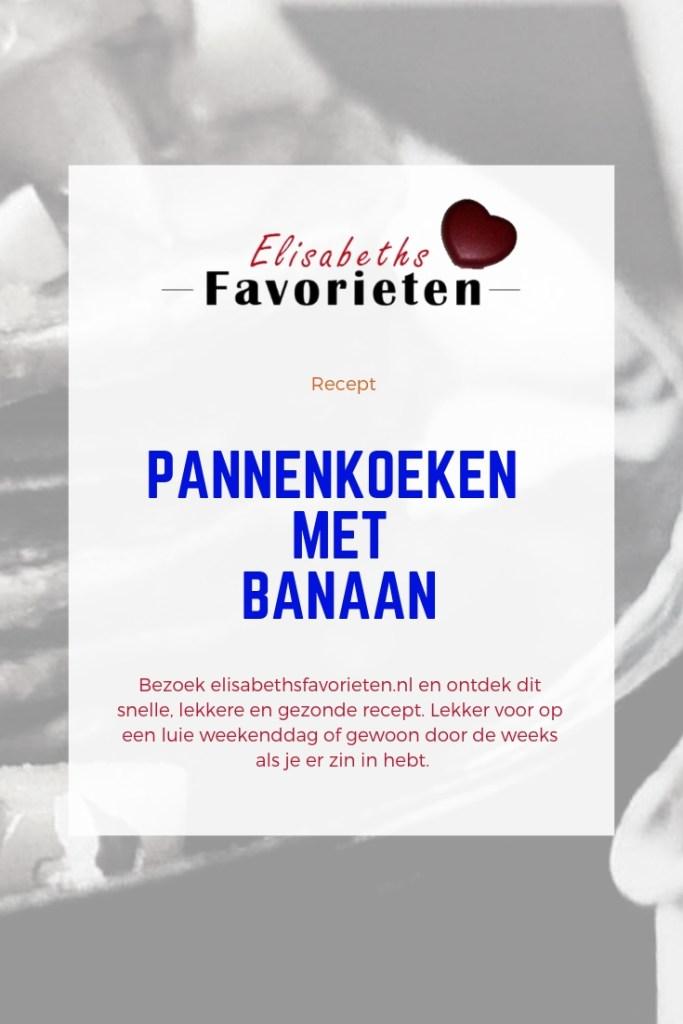 pannenkoeken met banaan