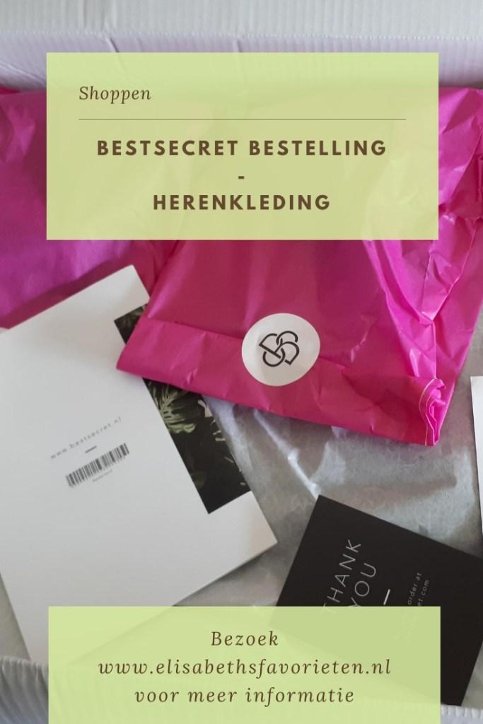 BestSecret bestelling - Herenkleding