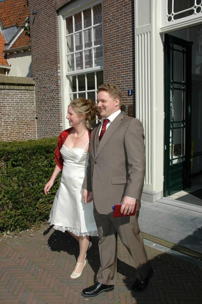 Na de ceremonie