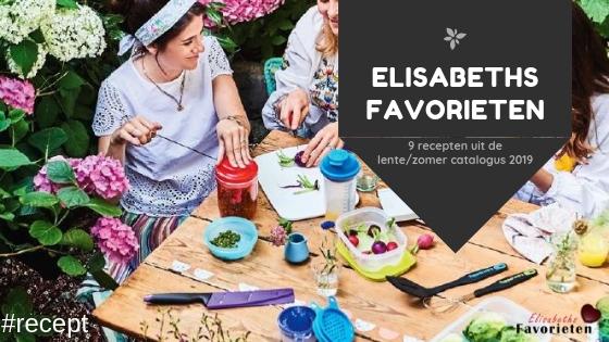 9 recepten uit de lentezomer catalogus 2019