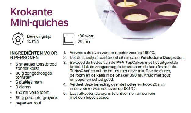 krokante mini quiches