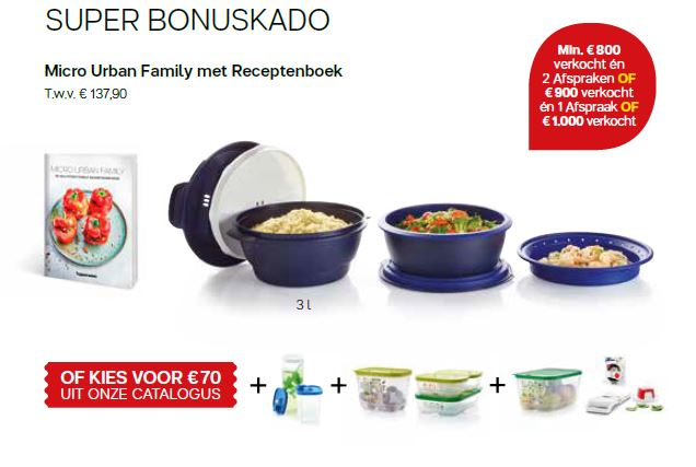 micro urban family + receptenboek - super bonus cadeau