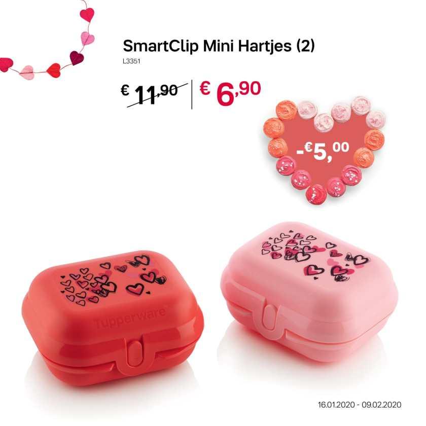 SmartClip mini hartjes