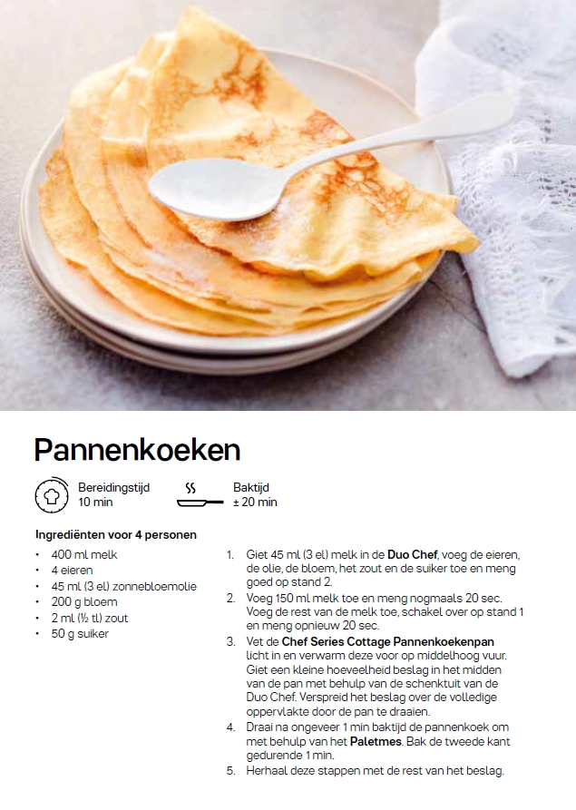recept - pannenkoeken